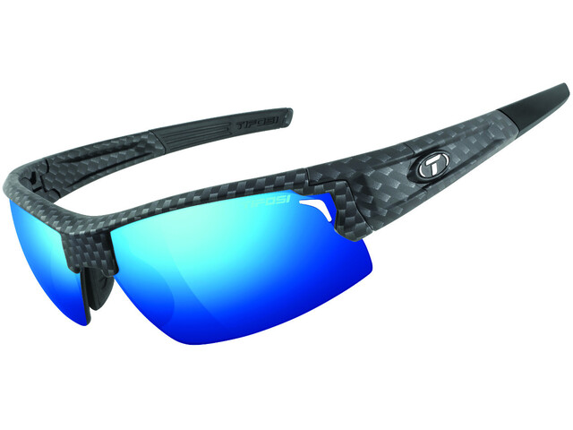 Tifosi Escalate HS Glasses matte carbon - clarion blue/AC red/clear